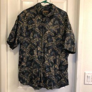Woolrich Hawaiian Button Down Shirt